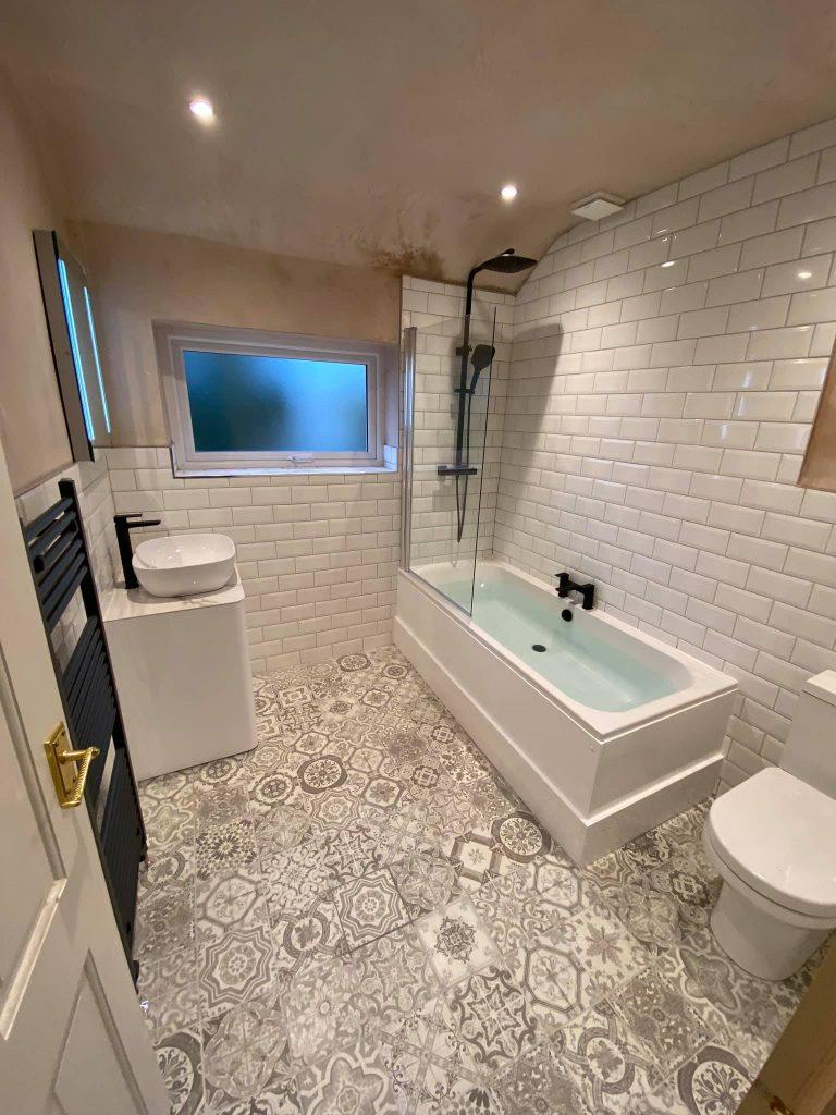 Bathroom transformation Alwoodley, Leeds