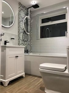 Contemporary designed bathroom fitter Otley