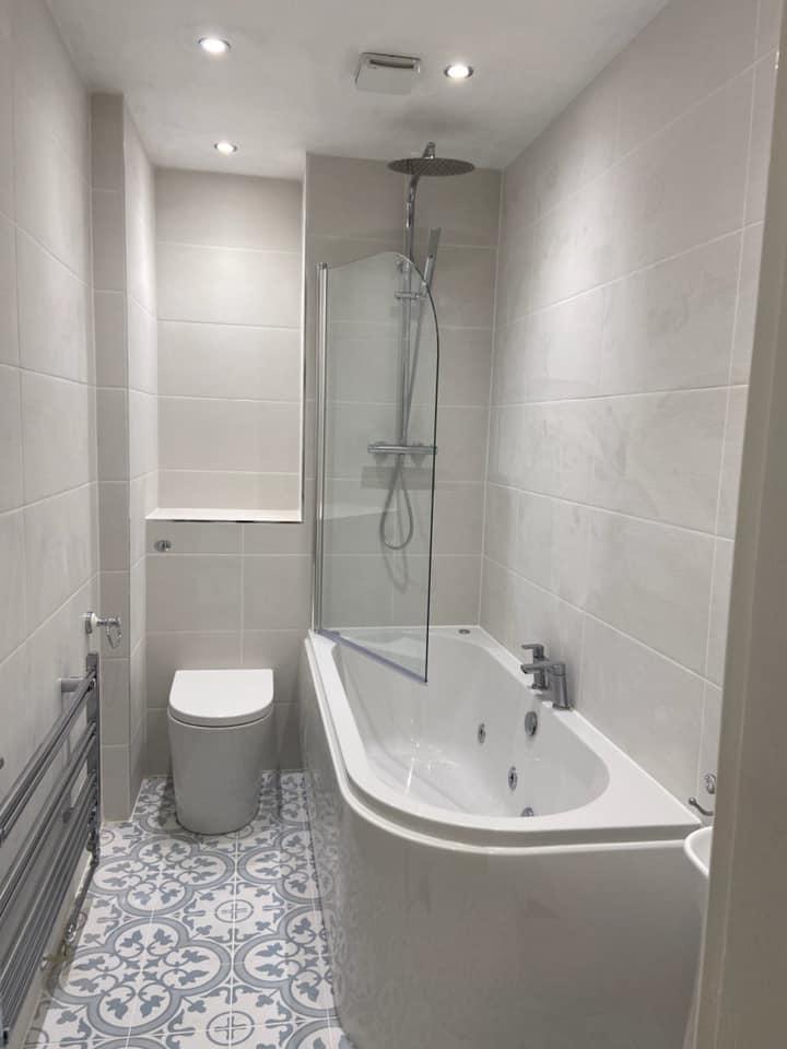 Bespoke fitted bathroom Batley