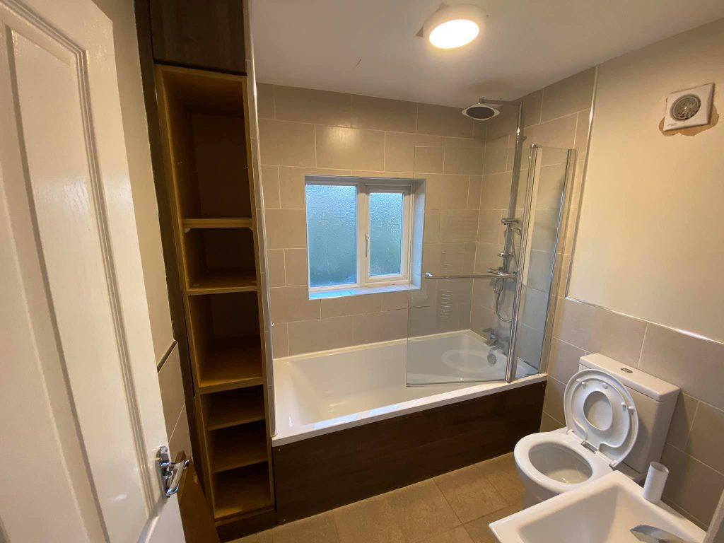 Modern family bathroom fitted in Otley, West Yorkshire