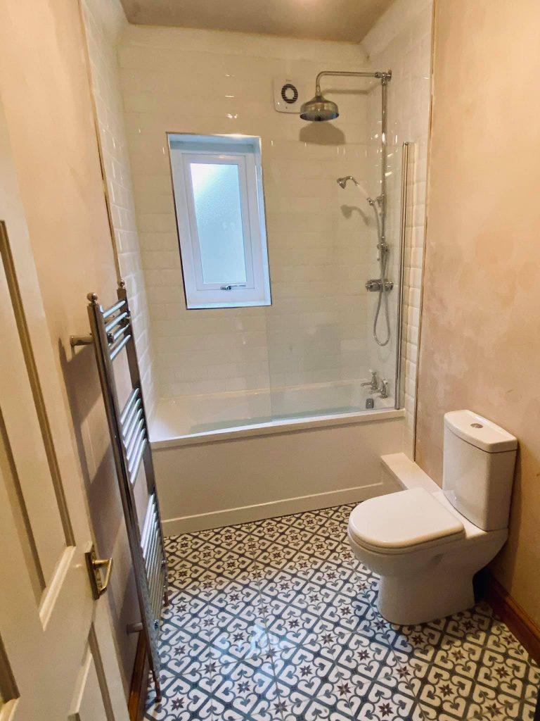 Small space bathroom refurbishment Otley
