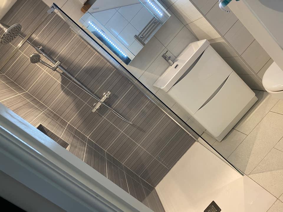 Bathroom attic en-suite refurbishment Otley