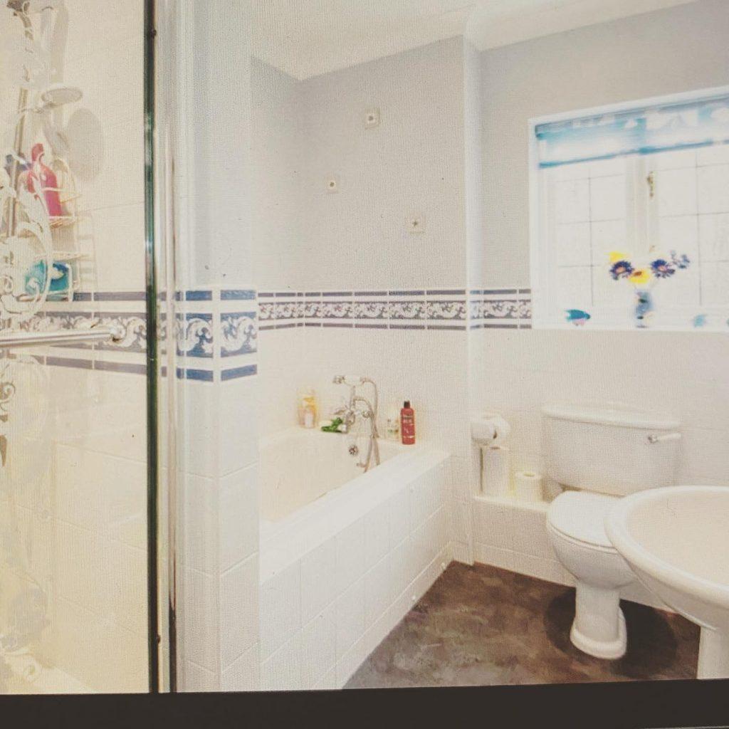 Bathroom transformation Menston Before