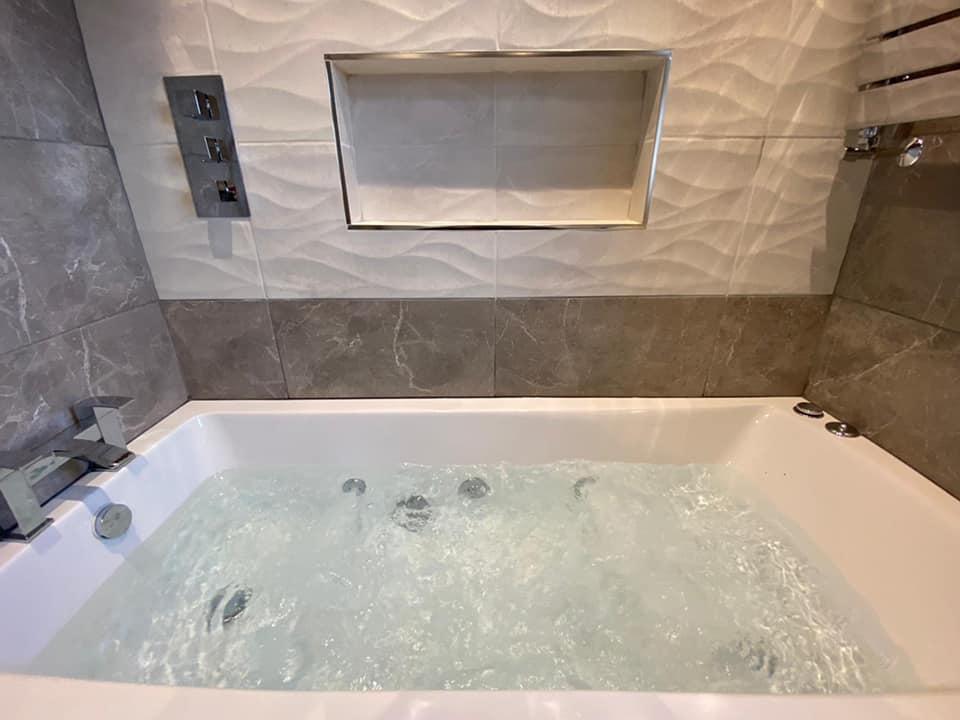 jacuzzi bath modernised bathroom